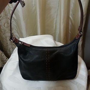 Fossil soft leather shoulder bag. EUC